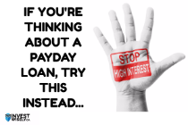 If you're thinking about a payday loan, try t…