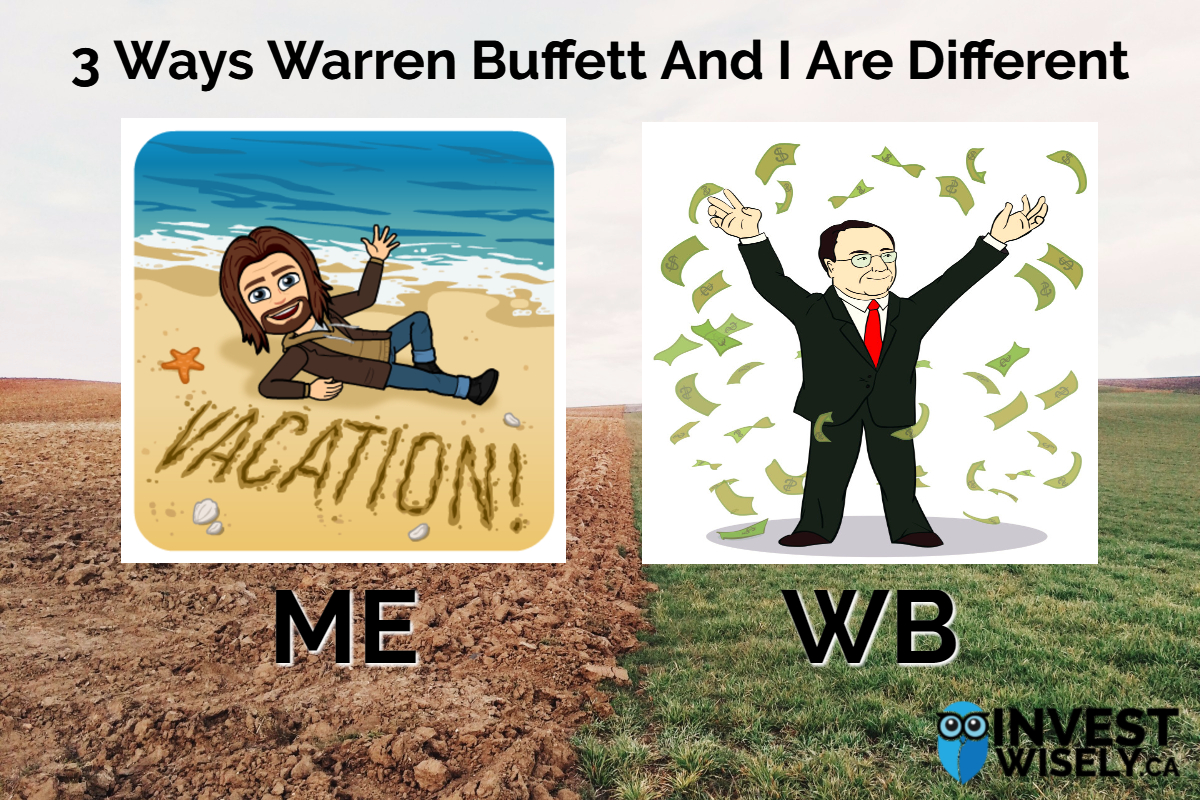 3 Ways Warren Buffett And I Are Different