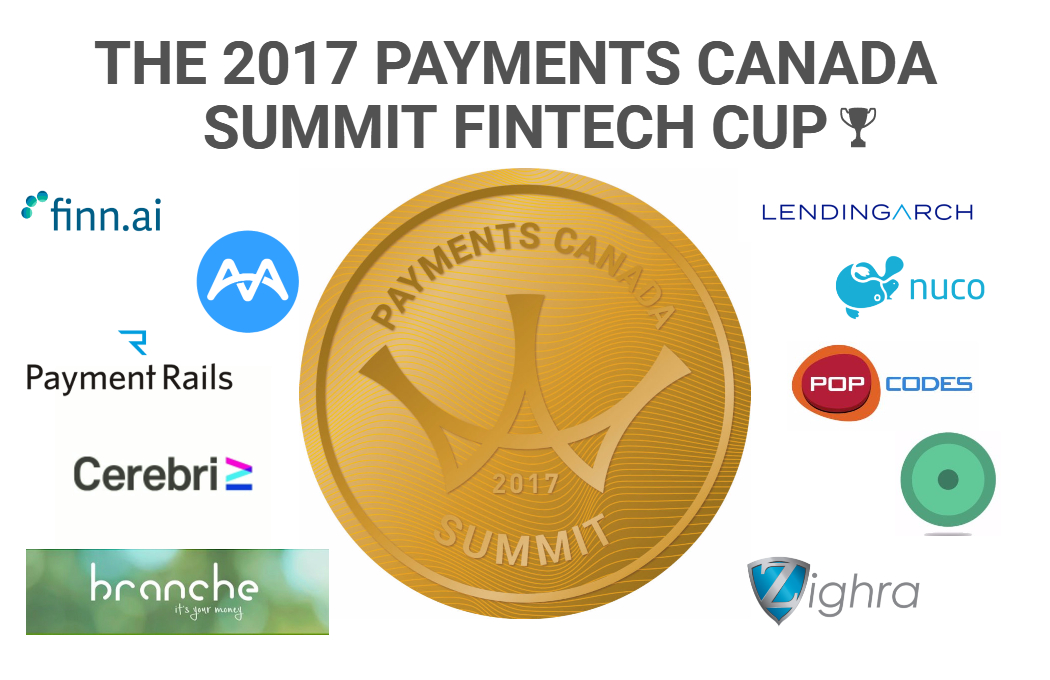 The 2017 Payments Canada Summit FinTech Cup