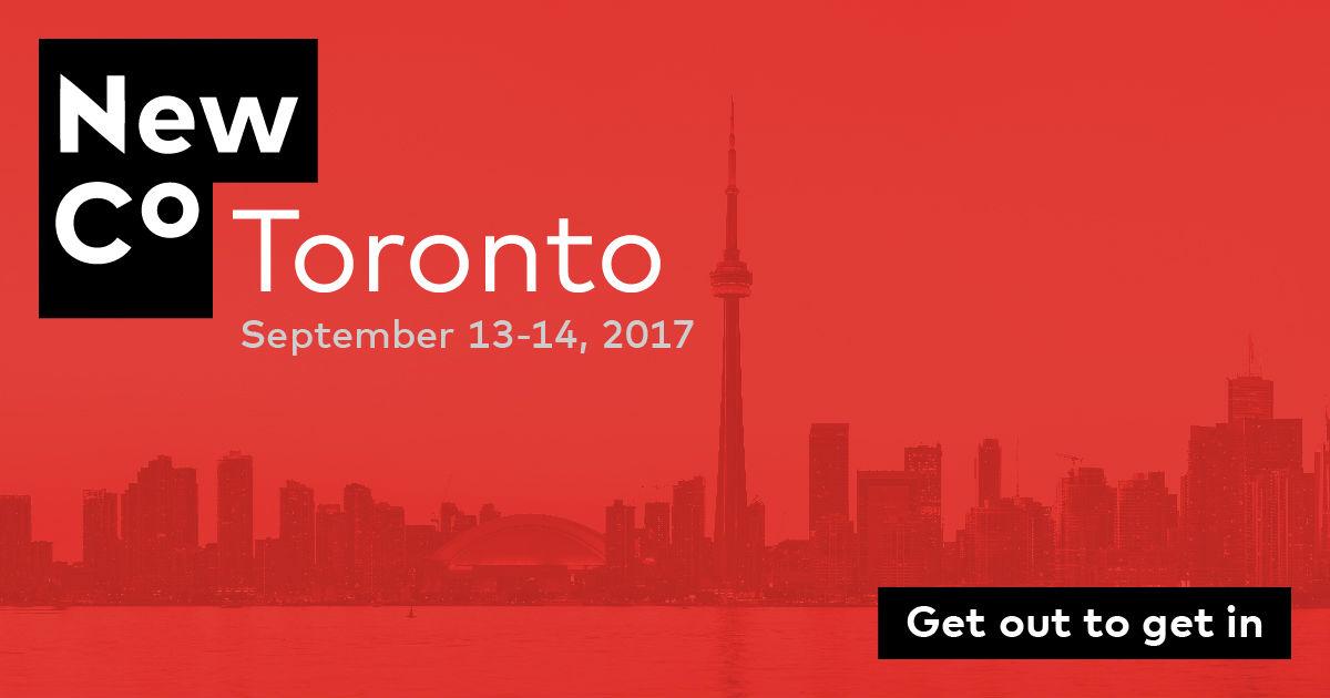 NewCo Toronto Elevate Toronto Festival 2017