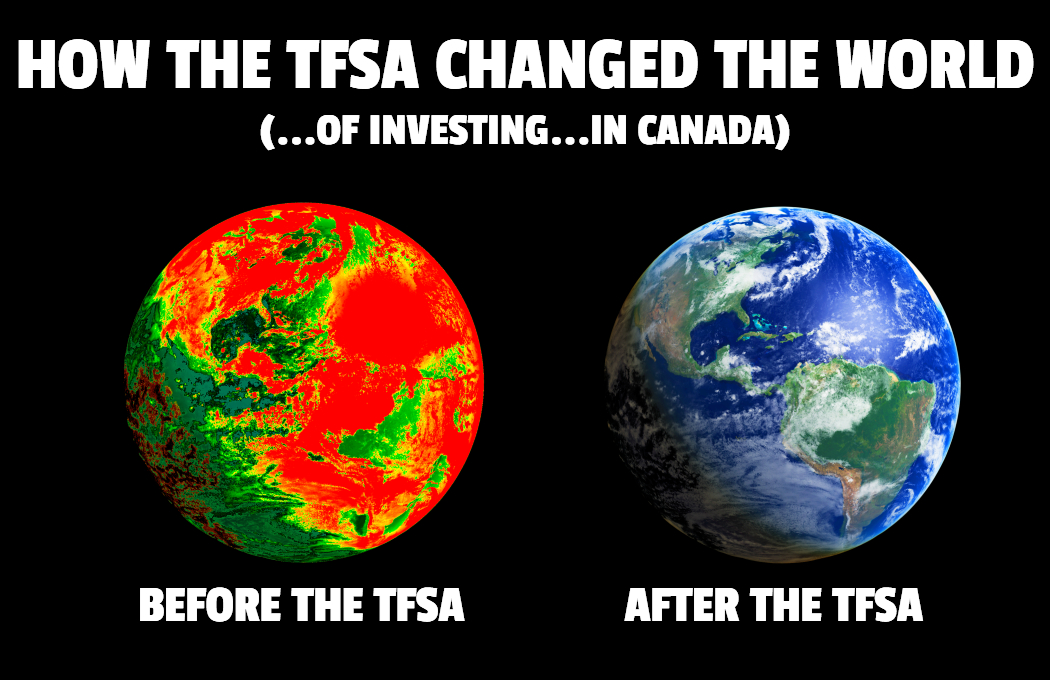 How the TFSA Changed the World (…of investing…in Canada)